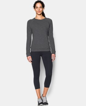 Women's UA Plush Terry Crew  1 Color $32.99 to $41.99