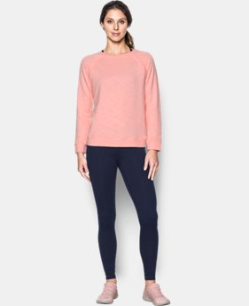 Women's UA Plush Terry Crew  1 Color $79.99