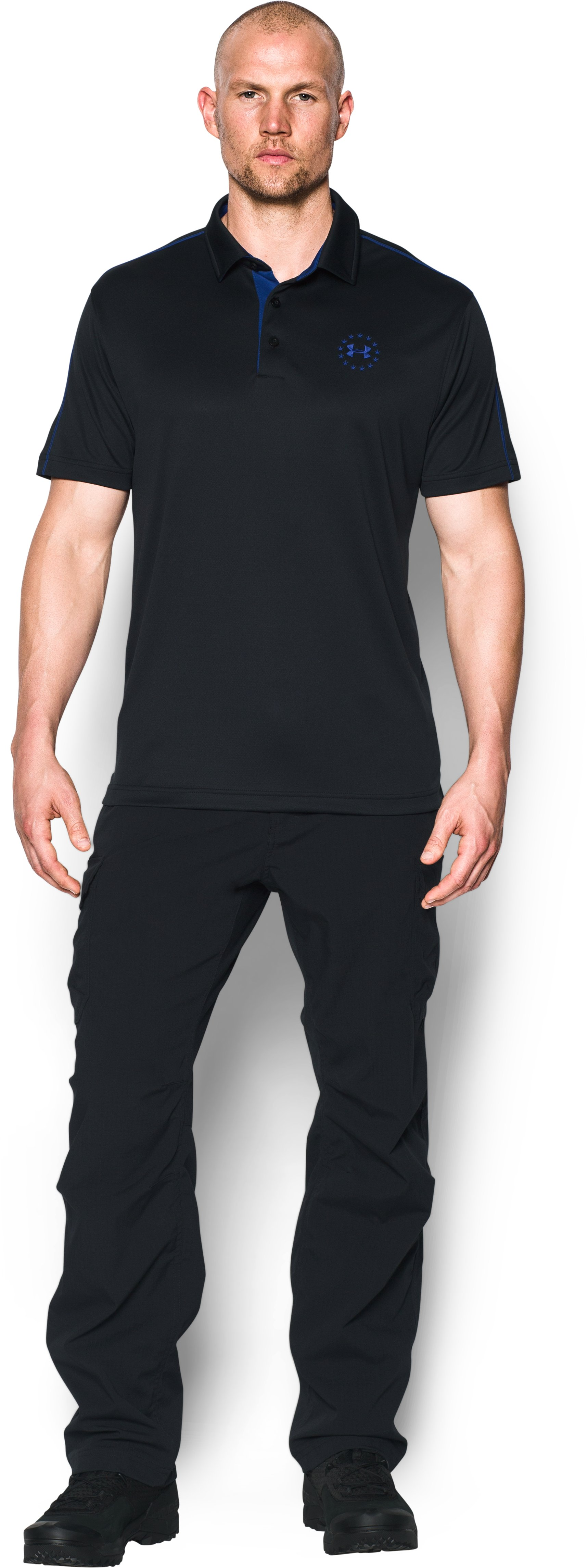 Men's UA Freedom Polo, Black