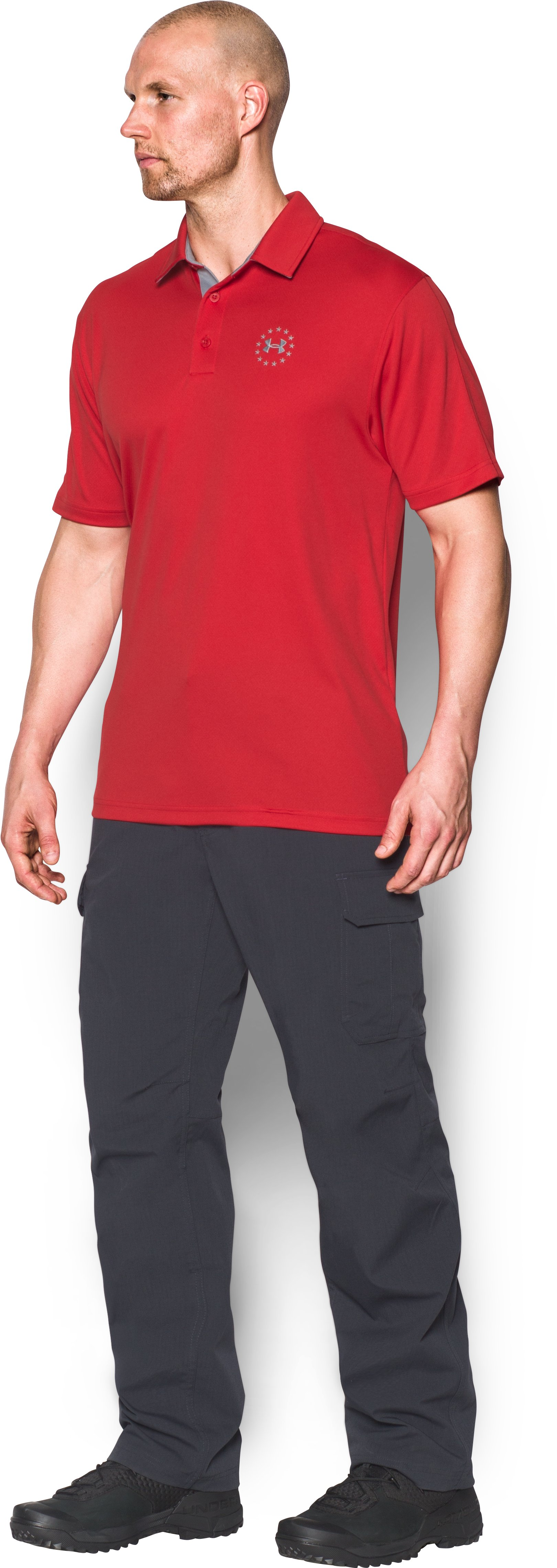 Men's UA Freedom Polo, Red,