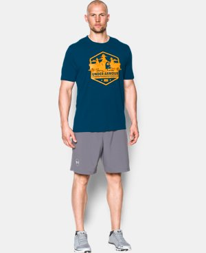 New Arrival Men's UA Freedom By Sea T-Shirt  1 Color $24.99