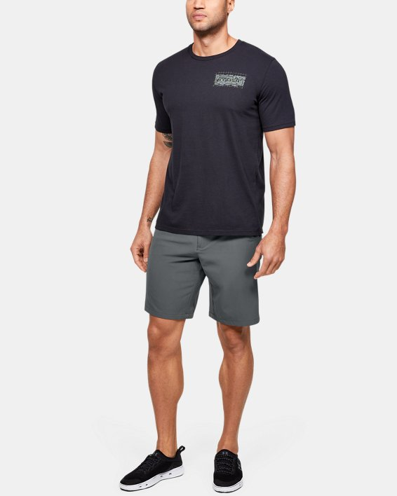 Men's UA Surf & Turf Stretch Amphibious Boardshorts, Gray, pdpMainDesktop image number 1