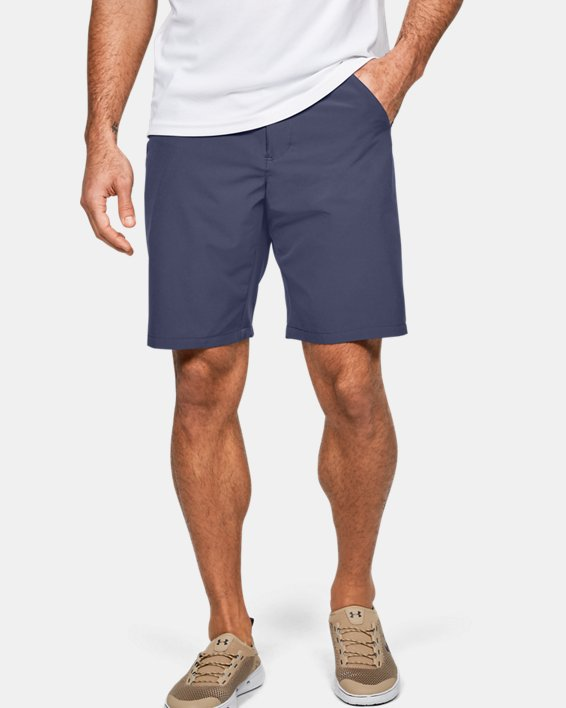 Men's UA Surf & Turf Stretch Amphibious Boardshorts, Blue, pdpMainDesktop image number 0