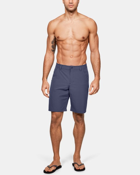 Men's UA Surf & Turf Stretch Amphibious Boardshorts, Blue, pdpMainDesktop image number 6