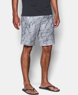 New Arrival Men's UA Stretch Printed Boardshorts  3 Colors $54.99