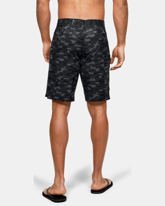 Men's UA Stretch Printed Boardshorts, Black, pdpMainDesktop image number 2