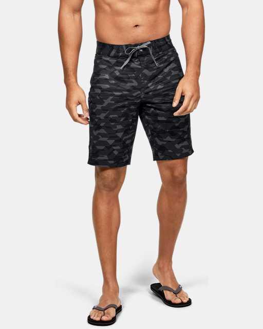 Men's UA Stretch Printed Boardshorts