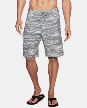 Men's UA Stretch Printed Boardshorts LIMITED TIME: FREE SHIPPING 1 Color $64.99