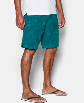 New Arrival Men's UA Stretch Printed Boardshorts  1 Color $54.99