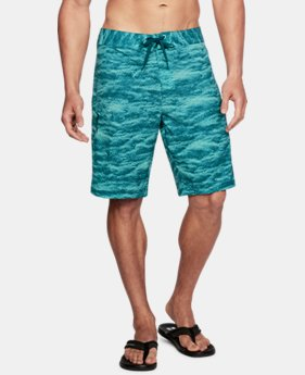 Men's UA Stretch Printed Boardshorts  1  Color Available $64.99
