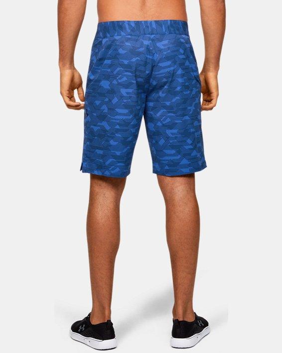 Men's UA Stretch Printed Boardshorts, Blue, pdpMainDesktop image number 2