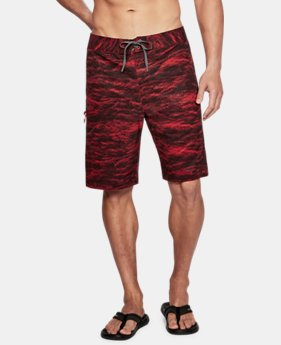 Men's UA Stretch Printed Boardshorts  4  Colors Available $64.99