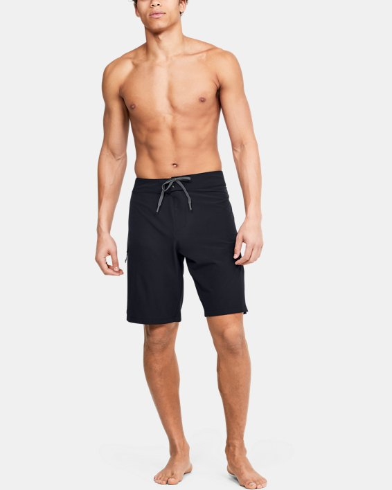 Men's UA Stretch Boardshorts, Black, pdpMainDesktop image number 1