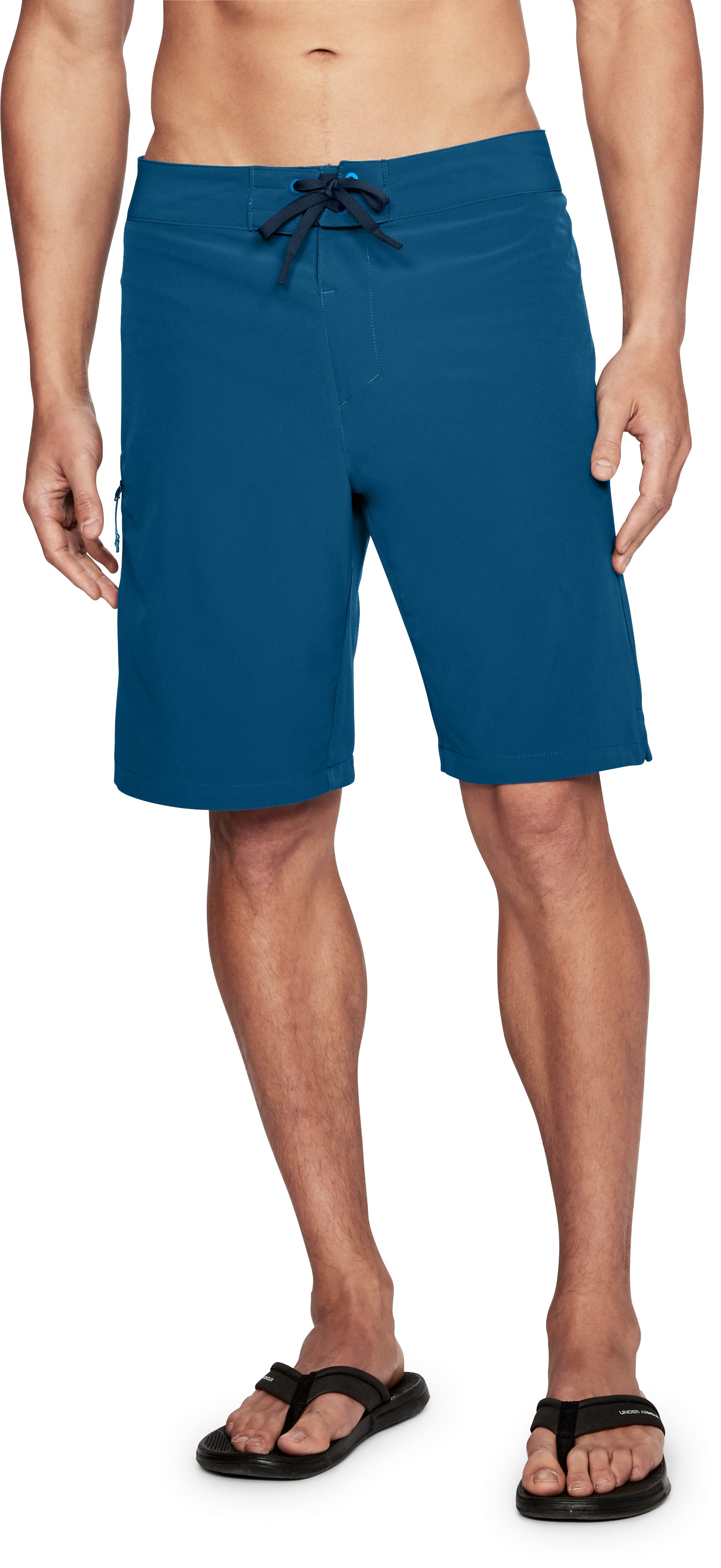 Men's UA Stretch Boardshorts, MOROCCAN BLUE