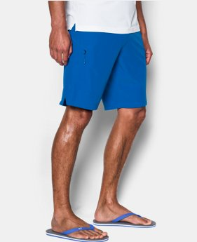 586b3a6febf Workout Shorts Under Armour Mens Stretch Printed Boardshorts Under Armour  Apparel 1290503