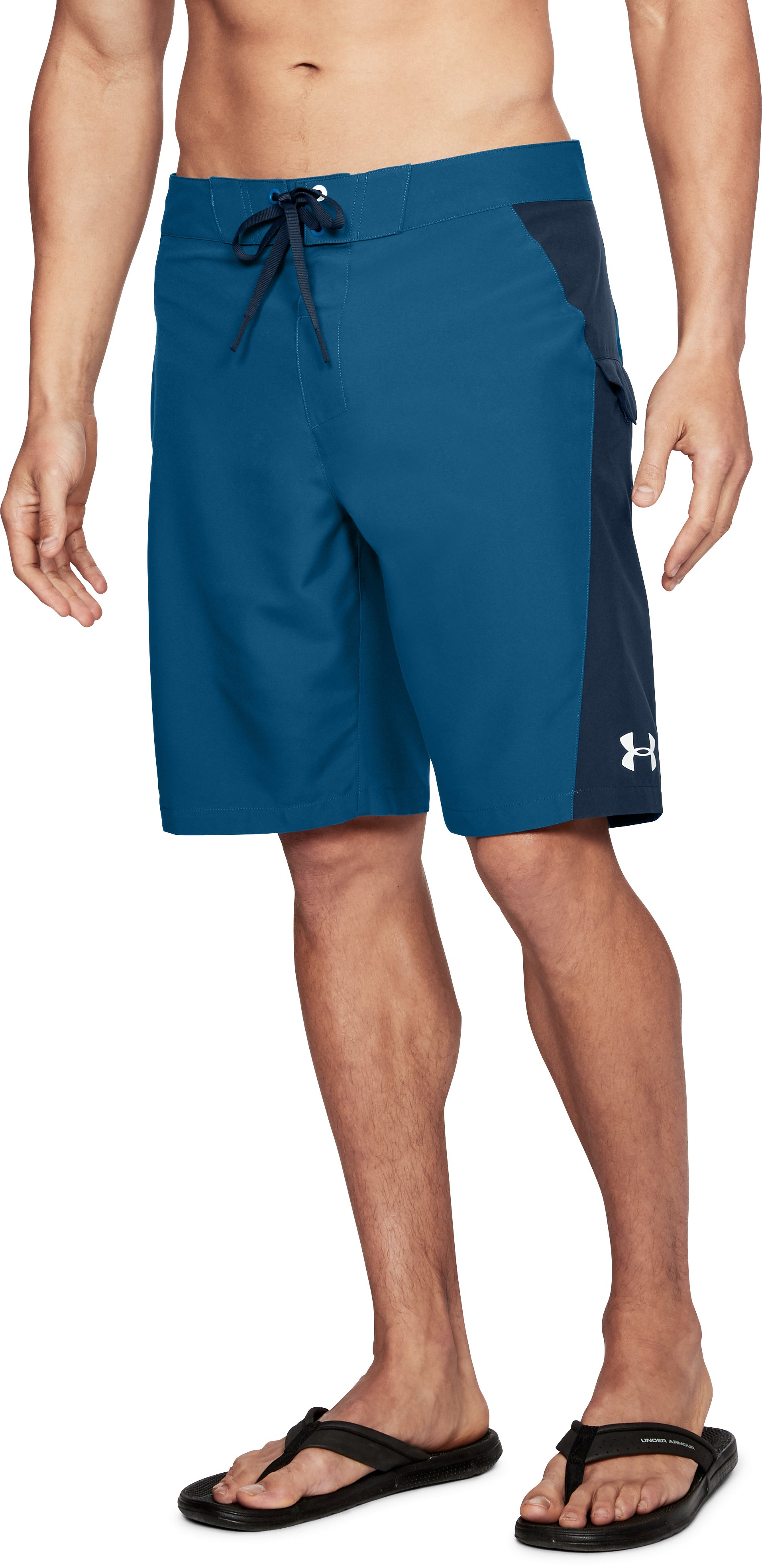 Men's UA Rigid Boardshorts, MOROCCAN BLUE, undefined