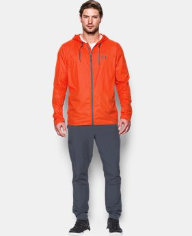 New to Outlet Men's UA Leeward Windbreaker  2 Colors $59.99