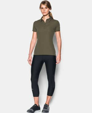 New Arrival Women's UA Performance Range Tactical Polo  1 Color $49.99
