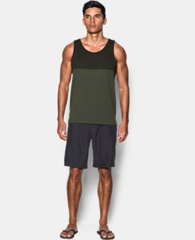 New Arrival Men's UA Fractal Tank  6 Colors $34.99