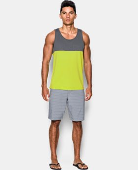 New Arrival Men's UA Fractal Tank  1 Color $34.99