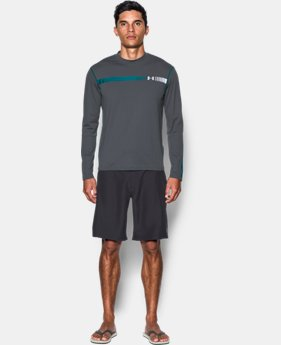 New Arrival Men's UA Threadborne Rashguard Long Sleeve   $39.99