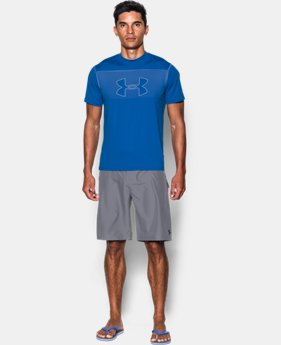 Men's UA Rashguard Short Sleeve  1 Color $33.99