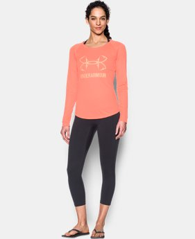 Women's UA UPF 30 Long Sleeve  1 Color $19.99 to $27.99