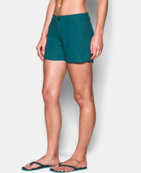 "Women's UA Fish Hunter Shorts - 4""  1 Color $28.49"