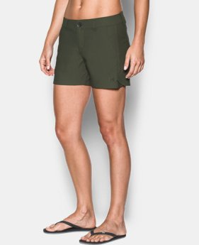 "Women's UA Fish Hunter Shorts - 4""  1 Color $29.99"