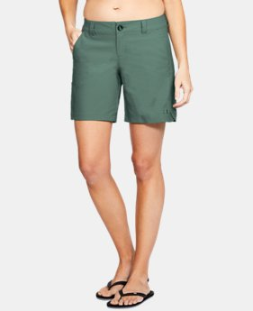 "Women's UA Fish Hunter Shorts - 7""  1  Color Available $41.24"