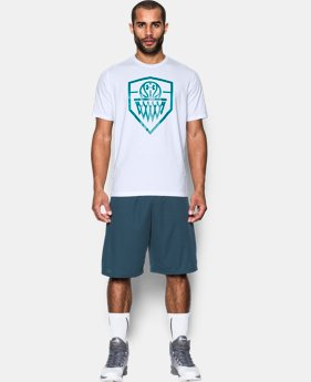 Men's UA BBall Logo T-Shirt  1 Color $14.24