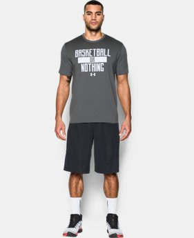 Men's UA Basketball or Nothing T-Shirt  1 Color $22.99