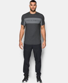 New Arrival Men's UA Pursuit Cut & Sew T-Shirt  1 Color $44.99