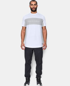 Men's UA Pursuit Cut & Sew T-Shirt  1 Color $23.99