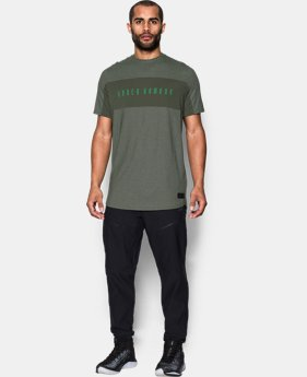 Men's UA Pursuit Cut & Sew T-Shirt  1 Color $24.99 to $31.99