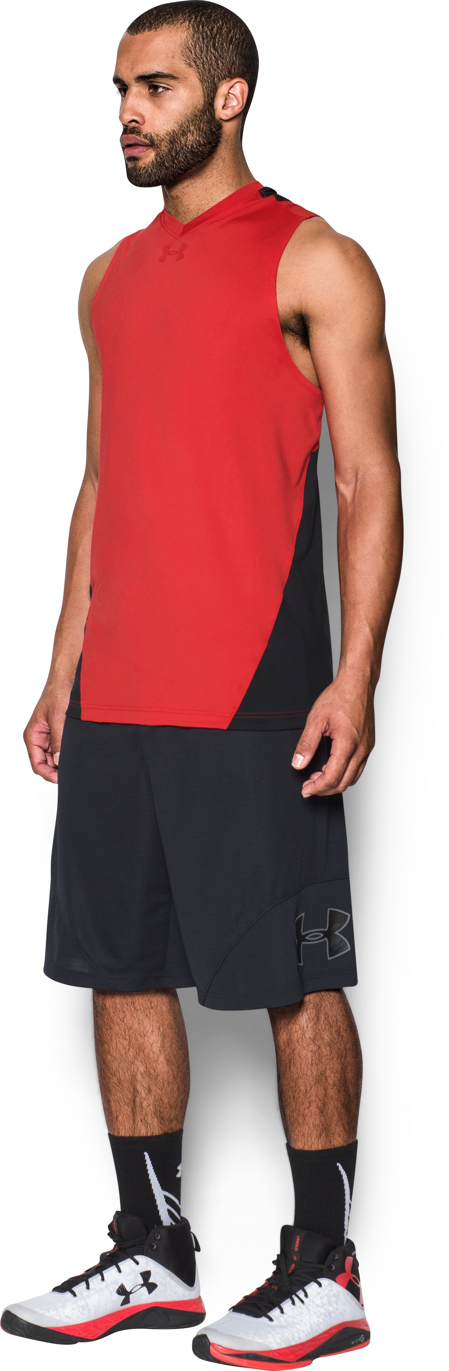 Men's UA Select Tank, Red, undefined