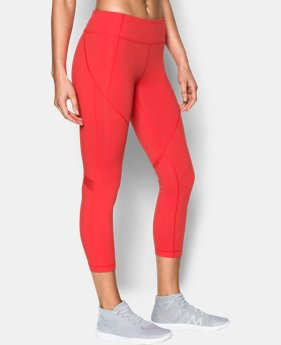 Women's UA Mirror Colorblock Crop  1 Color $38.99 to $52.99