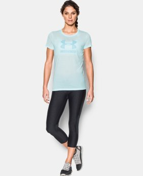 Women's UA Threadborne Sportstyle Crew - Twist LIMITED TIME OFFER 2 Colors $23.09