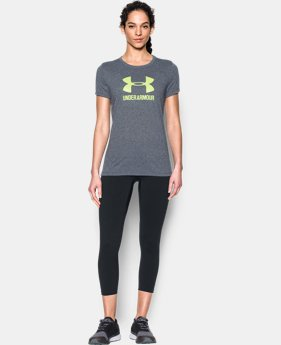 Women's UA Threadborne Sportstyle Crew - Twist LIMITED TIME OFFER 6 Colors $23.09