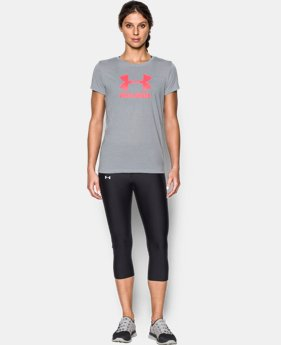 Women's UA Threadborne Sportstyle Crew - Twist  3 Colors $14.24 to $24.99