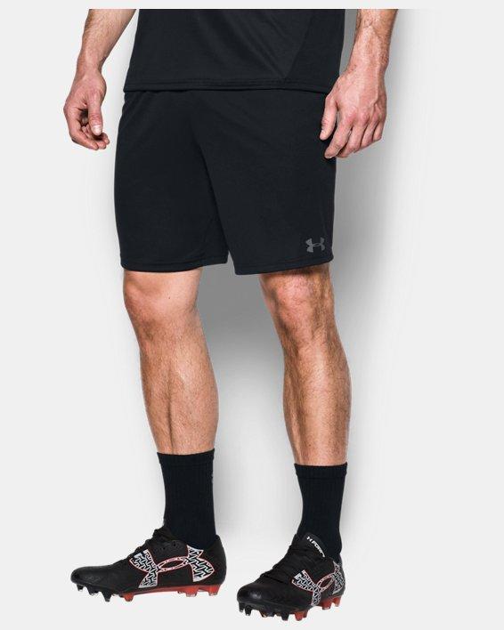 Men's UA Challenger Knit Shorts, Black, pdpMainDesktop image number 0