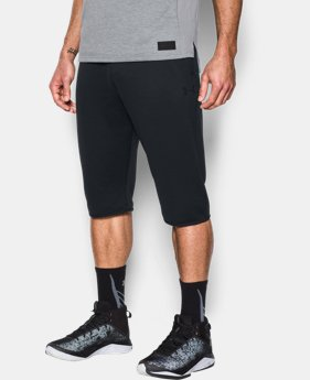 New to Outlet Men's UA Baseline ½ Pants  1 Color $34.99