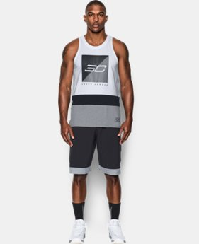 New to Outlet Men's SC30 Splash Tank  1 Color $20.99