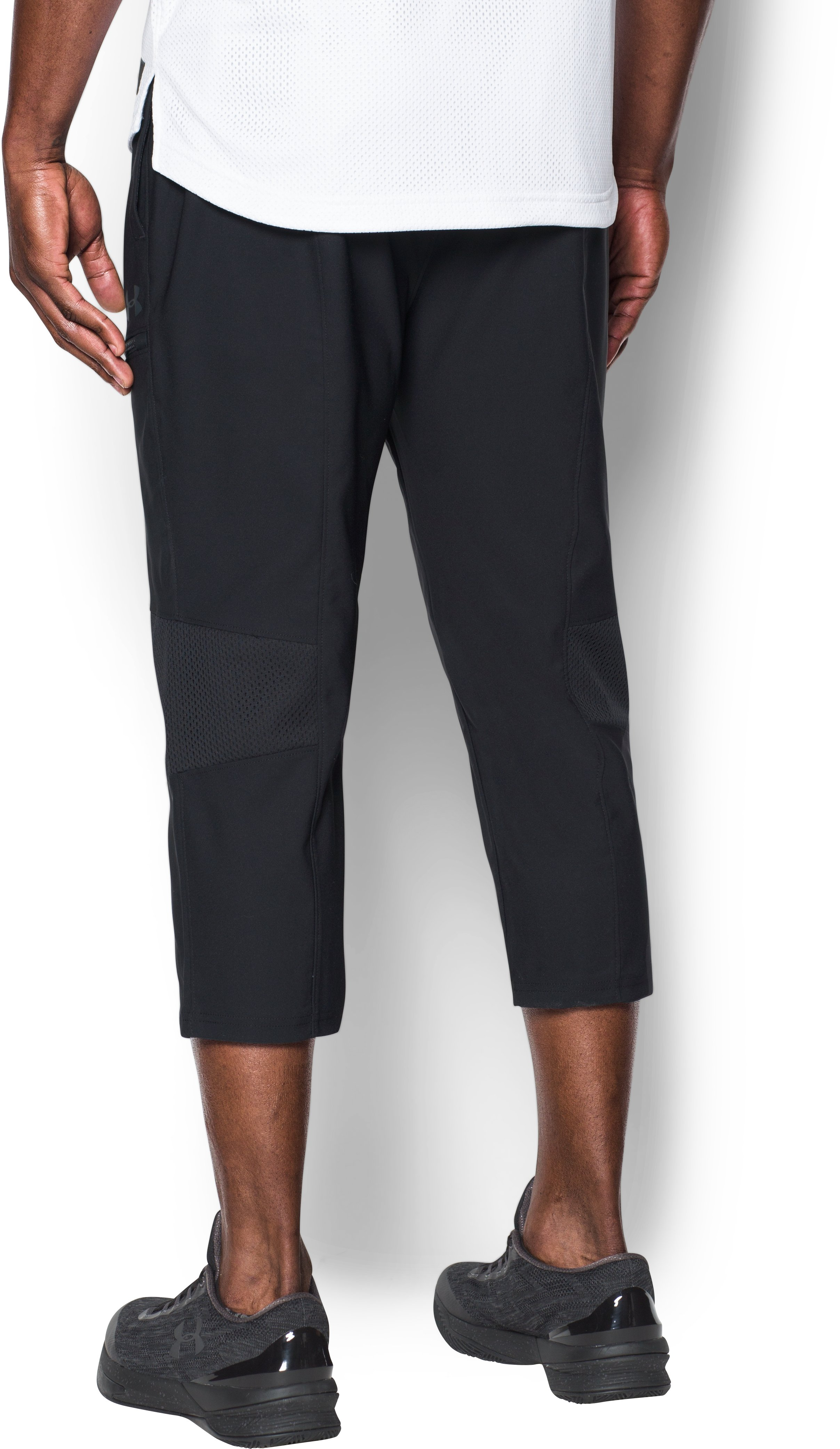 Men's UA Pursuit Skimmer Pants, Black ,