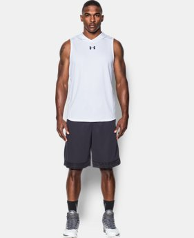 Men's UA Select Sleeveless Hoodie  3  Colors Available $54.99