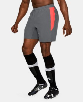 Men's UA Pitch Stretch-Woven Shorts  1 Color $54.99