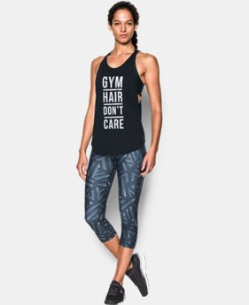 New Arrival Women's UA Gym Hair Don't Care Strappy Tank   $29.99