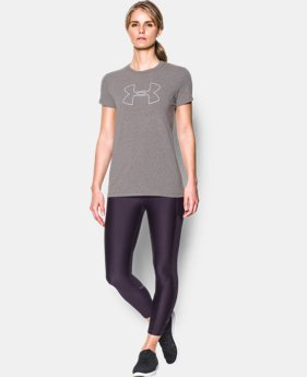 Best Seller Women's UA Big Logo Short Sleeve  5 Colors $14.99 to $17.99