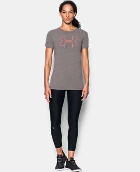 Best Seller Women's UA Big Logo Short Sleeve  8 Colors $24.99