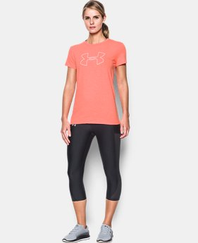 Best Seller Women's UA Big Logo Short Sleeve  1 Color $17.99